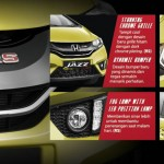 Exterior honda JAZZ tegal
