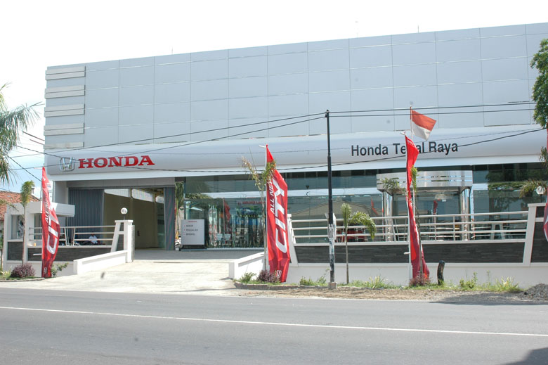 Alamat Dealer Honda Tegal raya