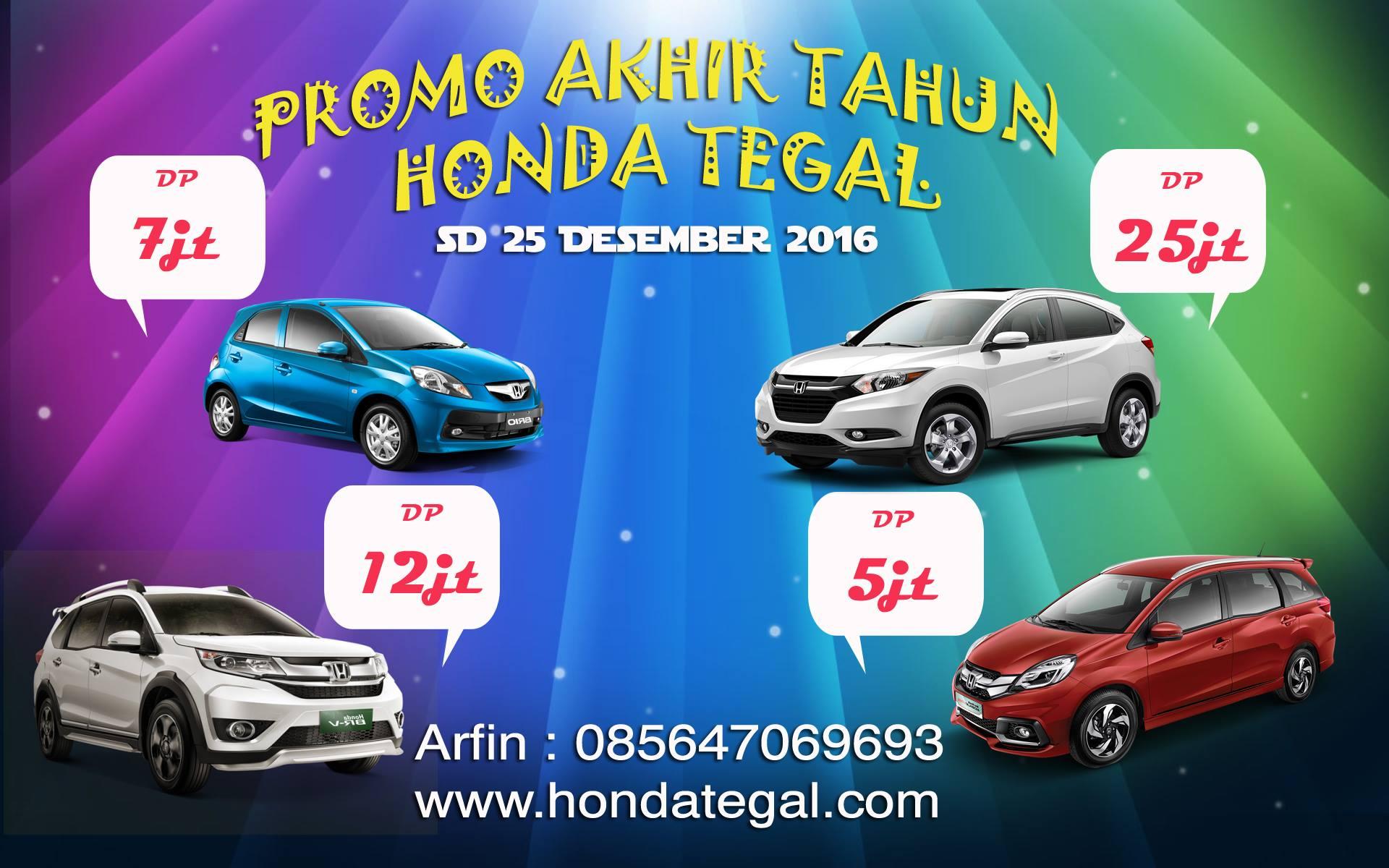 Promo Desember Honda Tegal